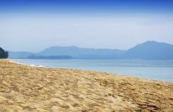 Παραλία Ταϊλάνδη της Mai Khao Στοκ Εικόνα