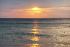 Παραλία Ταϊλάνδη της Mai Khao Στοκ εικόνα με δικαίωμα ελεύθερης χρήσης