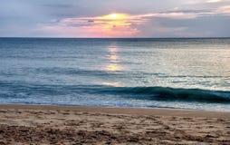 Παραλία Ταϊλάνδη της Mai Khao Στοκ φωτογραφία με δικαίωμα ελεύθερης χρήσης
