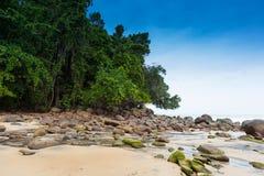 Παραλία Ταϊλάνδη LAK Khao Στοκ Φωτογραφία