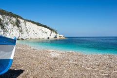Παραλία της Έλβας (νησί της Έλβας, Ιταλία) Στοκ Εικόνες