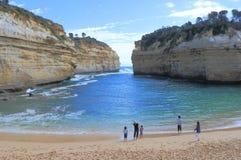 Παραλία της Αυστραλίας Στοκ φωτογραφίες με δικαίωμα ελεύθερης χρήσης
