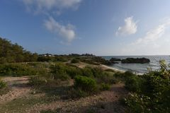 Παραλία της Αφρικής Στοκ φωτογραφία με δικαίωμα ελεύθερης χρήσης