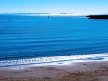 Παραλία της αλλαγής βάρδιας στο Καντίζ Στοκ Εικόνες