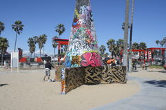 Παραλία της Βενετίας Στοκ εικόνα με δικαίωμα ελεύθερης χρήσης