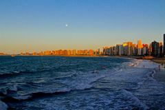 Παραλία της Βραζιλίας Στοκ εικόνα με δικαίωμα ελεύθερης χρήσης