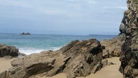 Παραλία της Βρετάνης στοκ εικόνα