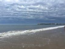 Παραλία της Γαλλίας Στοκ Εικόνες