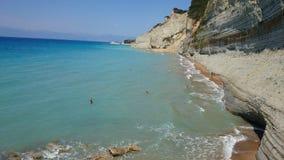 Παραλία της Ελλάδας Στοκ φωτογραφία με δικαίωμα ελεύθερης χρήσης
