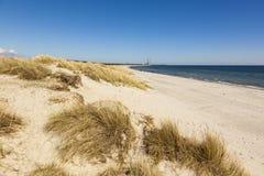 Παραλία της θάλασσας της Βαλτικής Grenaa, Δανία Στοκ Φωτογραφίες