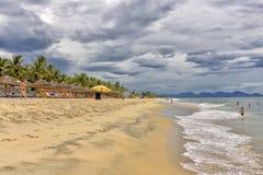 Παραλία της Κίνας κοντά σε Hoi, Βιετνάμ Στοκ Εικόνες