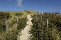 Παραλία της κηλίδας ηλίου LE Touquet Παρίσι στο Nord-Pas-de-Calais Στοκ εικόνα με δικαίωμα ελεύθερης χρήσης