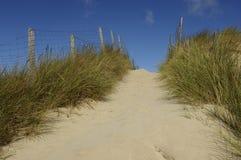 Παραλία της κηλίδας ηλίου LE Touquet Παρίσι στο Nord-Pas-de-Calais Στοκ φωτογραφία με δικαίωμα ελεύθερης χρήσης