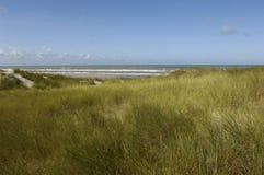 Παραλία της κηλίδας ηλίου LE Touquet Παρίσι στο Nord-Pas-de-Calais Στοκ φωτογραφίες με δικαίωμα ελεύθερης χρήσης