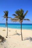 Παραλία της Κούβας Στοκ Εικόνες