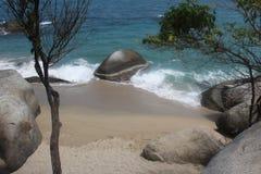 Παραλία της Κολομβίας Στοκ Εικόνες