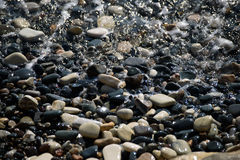 Παραλία της Κύπρου το χειμώνα Στοκ εικόνες με δικαίωμα ελεύθερης χρήσης