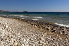 Παραλία της Ρόδου Στοκ φωτογραφία με δικαίωμα ελεύθερης χρήσης