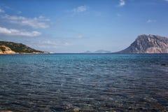 Παραλία της Σαρδηνίας Στοκ φωτογραφία με δικαίωμα ελεύθερης χρήσης