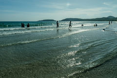 Παραλία της Ταϊλάνδης στην άνοιξη Στοκ Εικόνες
