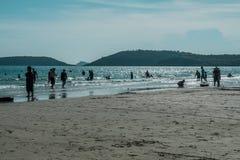 Παραλία της Ταϊλάνδης στην άνοιξη Στοκ Εικόνα
