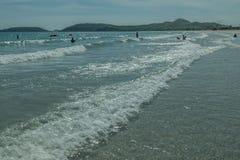 Παραλία της Ταϊλάνδης στην άνοιξη Στοκ Φωτογραφίες