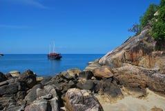 Παραλία της Ταϊλάνδης Στοκ εικόνα με δικαίωμα ελεύθερης χρήσης