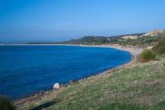 Παραλία Τουρκία ANZAC Στοκ εικόνες με δικαίωμα ελεύθερης χρήσης