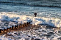 Παραλία του Αμπερντήν Στοκ Εικόνες