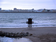 Παραλία του Καντίζ Στοκ Εικόνα