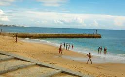 Παραλία του Κασκάις Στοκ εικόνα με δικαίωμα ελεύθερης χρήσης