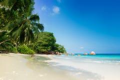 Παραλία του Λάτσιο Anse στο νησί Σεϋχέλλες praslin Στοκ Εικόνες