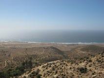 Παραλία του Μαρόκου, Essaouira Στοκ Εικόνα