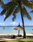 Παραλία του Μαυρίκιου στοκ εικόνες