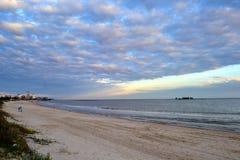 Παραλία του Μοντεβίδεο Στοκ φωτογραφίες με δικαίωμα ελεύθερης χρήσης