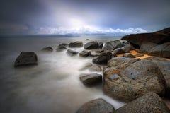 Παραλία του Μπάρι Kecil Στοκ Φωτογραφίες