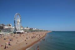 Παραλία του Μπράιτον στοκ εικόνα με δικαίωμα ελεύθερης χρήσης