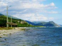 Παραλία του Σαντιάγο de Κούβα Στοκ φωτογραφία με δικαίωμα ελεύθερης χρήσης