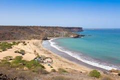 Παραλία του Σαν Φραντσίσκο στο Σαντιάγο στο Πράσινο Ακρωτήριο - Cabo Verde Στοκ Εικόνα