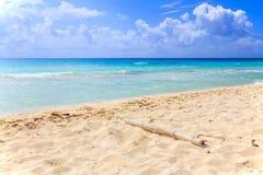 Παραλία του Playa del Carmen, Μεξικό Στοκ φωτογραφία με δικαίωμα ελεύθερης χρήσης