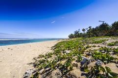 Παραλία του Saint-Pierre, Ile de Λα Reunion Στοκ Φωτογραφία