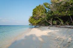 Παραλία των Μαλδίβες Στοκ Εικόνες