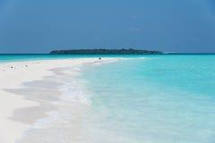 Παραλία των Μαλδίβες Στοκ Εικόνα