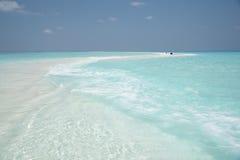 Παραλία των Μαλδίβες Στοκ Φωτογραφίες