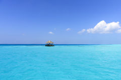 Παραλία των Μαλδίβες Στοκ φωτογραφίες με δικαίωμα ελεύθερης χρήσης