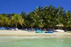 Παραλία δυτικών κόλπων στην Ονδούρα Στοκ εικόνες με δικαίωμα ελεύθερης χρήσης
