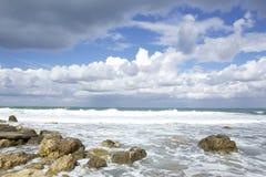 Παραλία φθινοπώρου Στοκ εικόνα με δικαίωμα ελεύθερης χρήσης