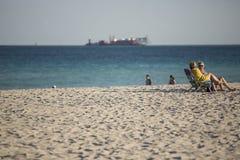 παραλία Φλώριδα Μαϊάμι ΗΠΑ Στοκ Φωτογραφία