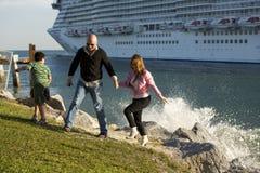 παραλία Φλώριδα Μαϊάμι ΗΠΑ Στοκ εικόνα με δικαίωμα ελεύθερης χρήσης