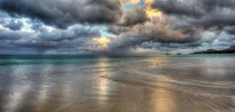 Παραλία Χαβάη Kailua Στοκ φωτογραφία με δικαίωμα ελεύθερης χρήσης